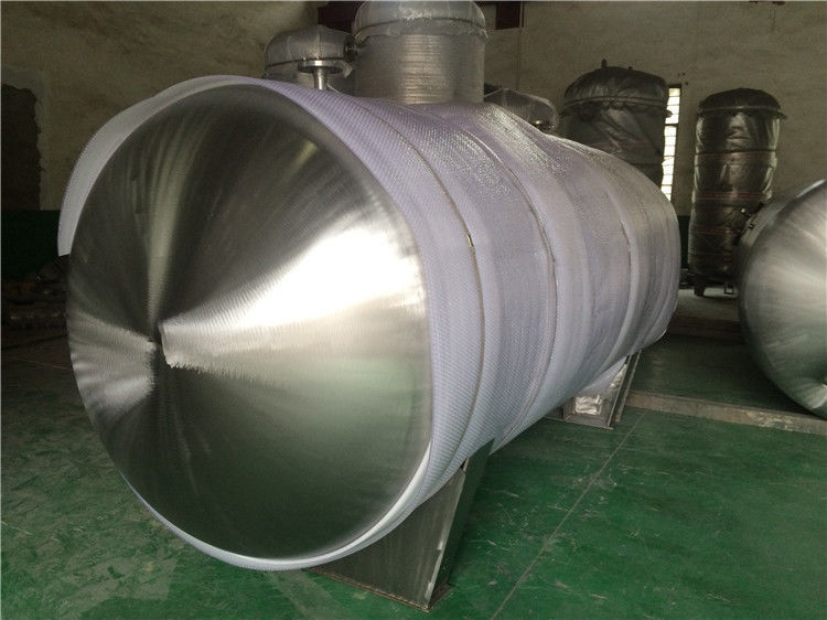 Stainless Steel Gas Storage Tanks And Pressure Vessels For Automotive Industry Horizontal