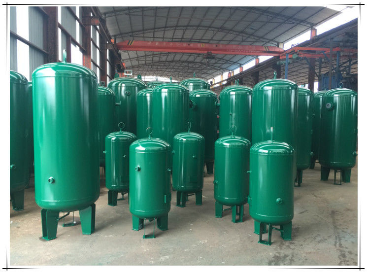 ASME Approved Vertical Vacuum Receiver Tank Pressure Vessel For Screw Compressor